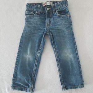 Levi's Boys' 505 Regular Fit Jeans, 2T